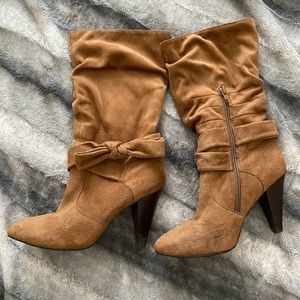 Bakers, suede calf boots- size 7